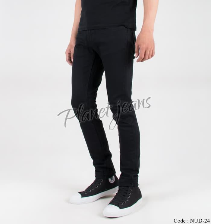 PROMO !! Celana Jeans / dry denim NUDlE Model Skinny / Pensil Cowok / Pria - 02