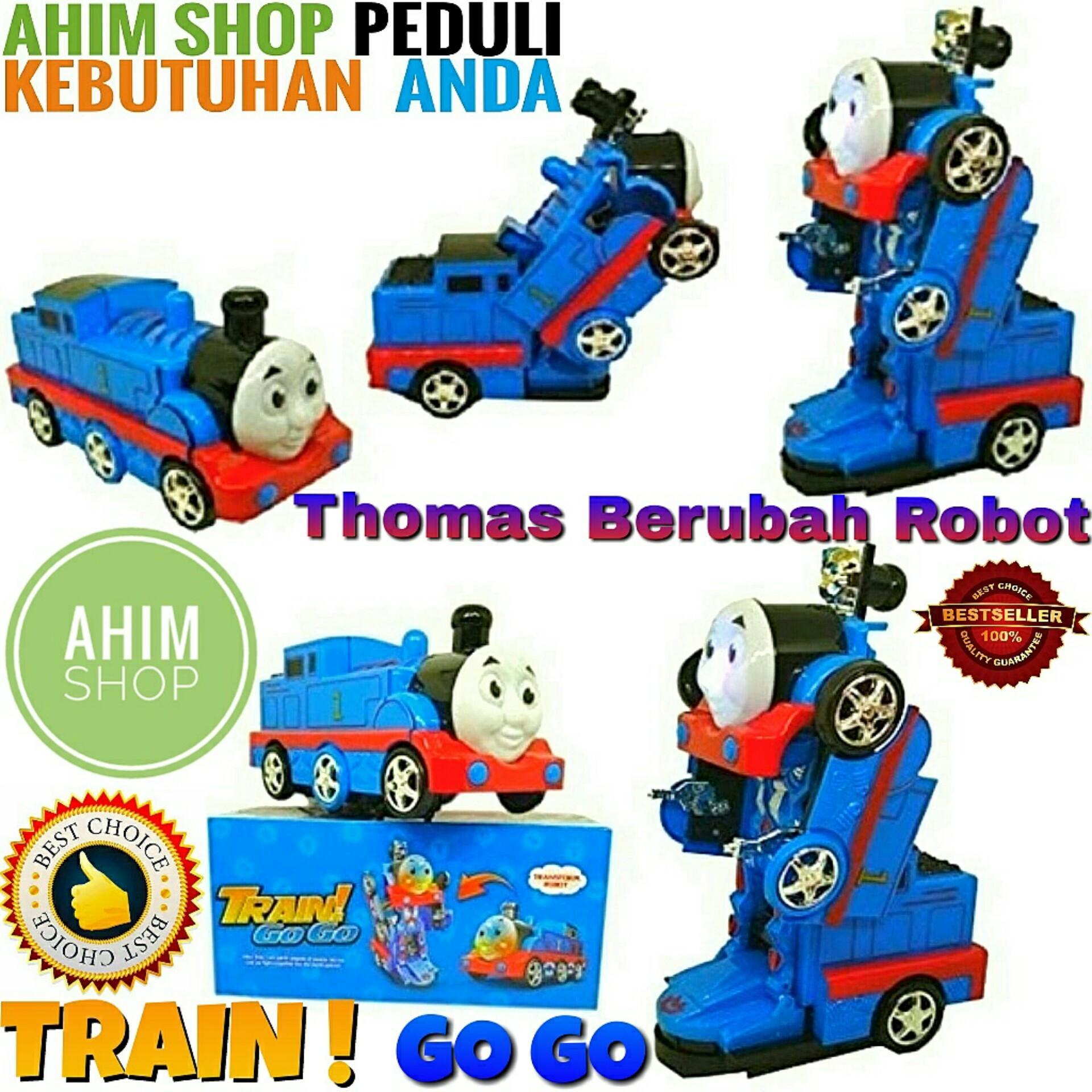 Mainan Mobil Kereta Robot Thomas Train Go Go Transformers Mobil Robot – Ahim Shop By Ahim Shop.