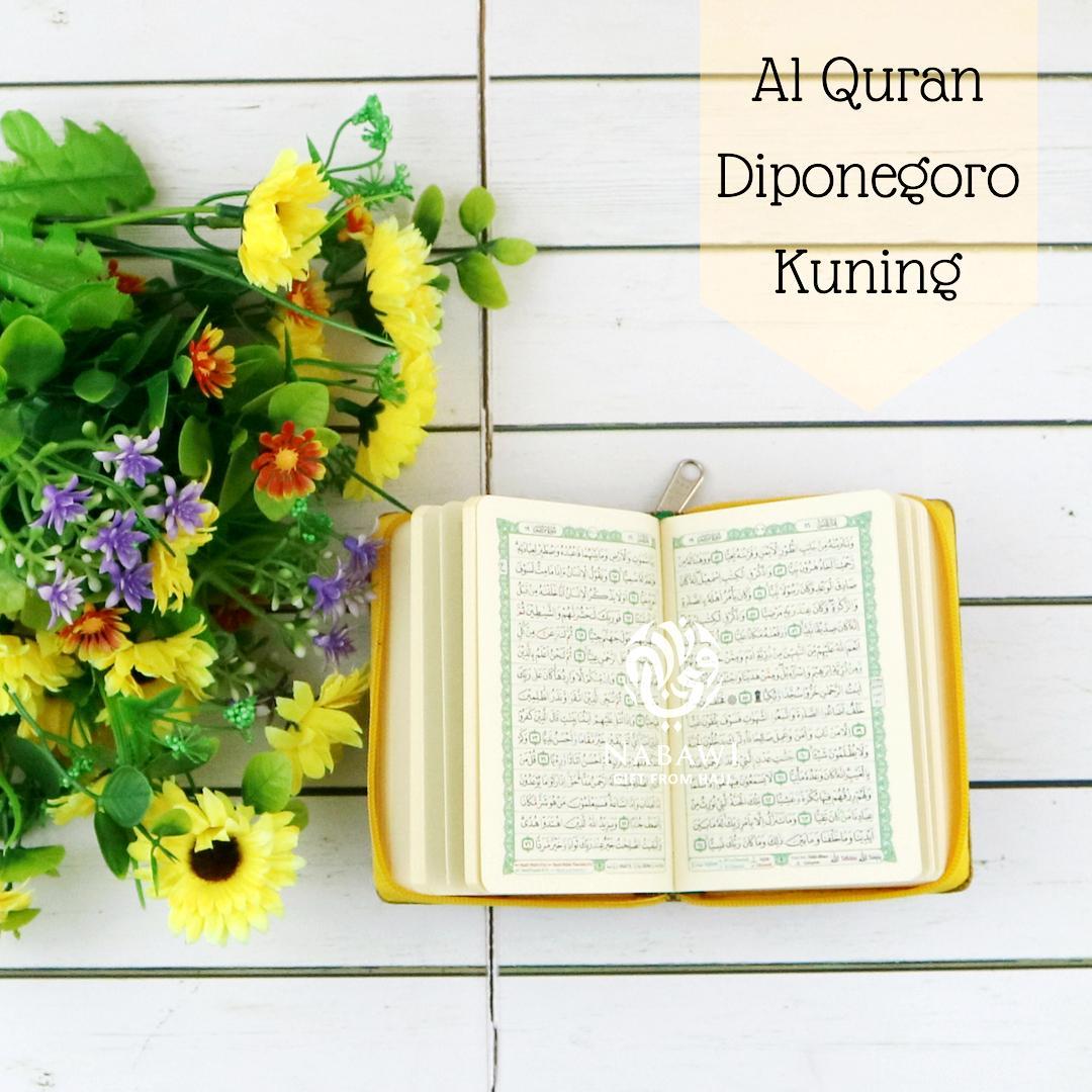 Al Quran Mushaf Tajwid Diponegoro/Al Quran Saku Tajwid Haji dan Umroh - Kuning