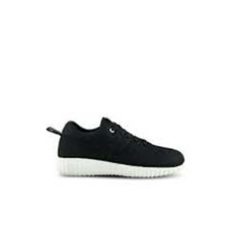 QiqiAji Sepatu Kets Sneakers Cool - Black