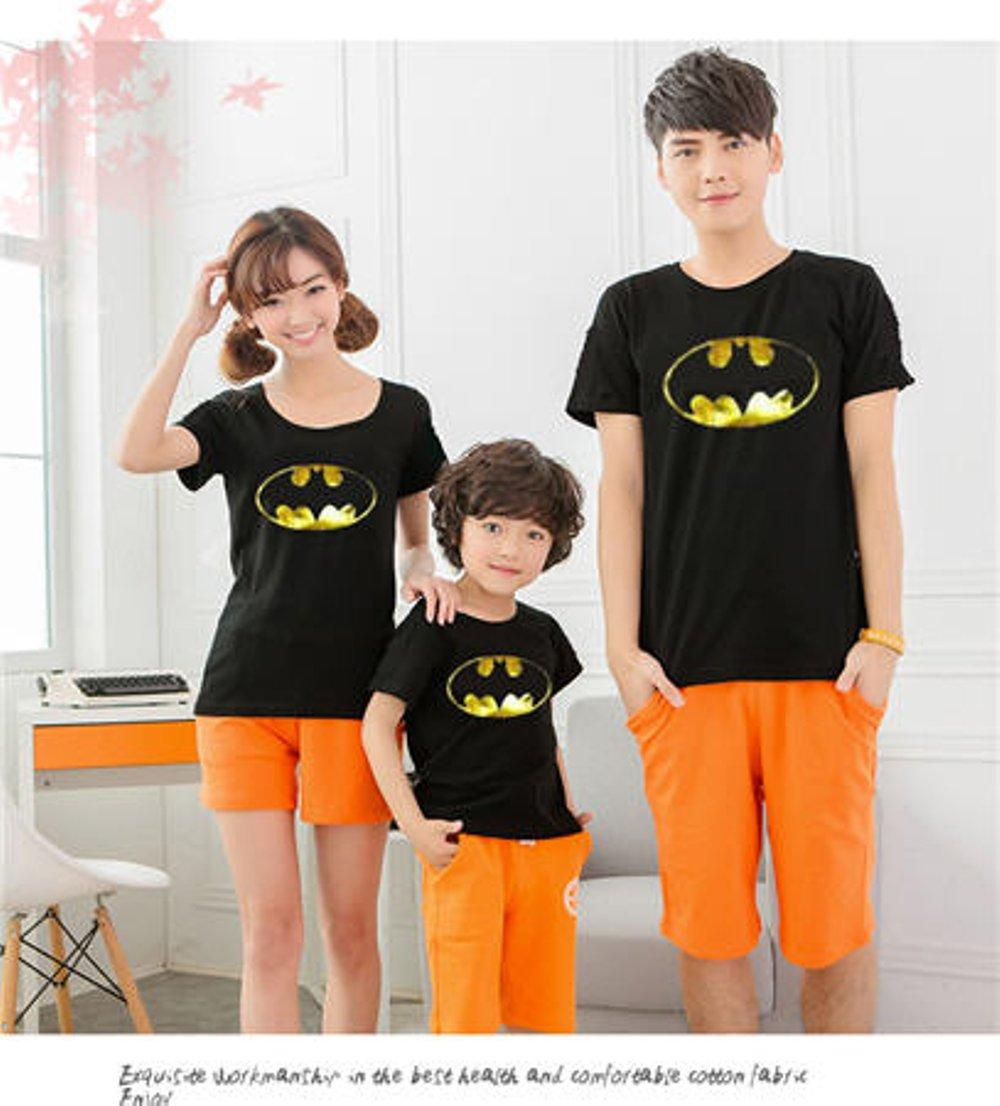 COUPLE FAMILY BATMAN GOLD FOIL (HITAM) di lapak COUPLE GROSIR couplegrosir