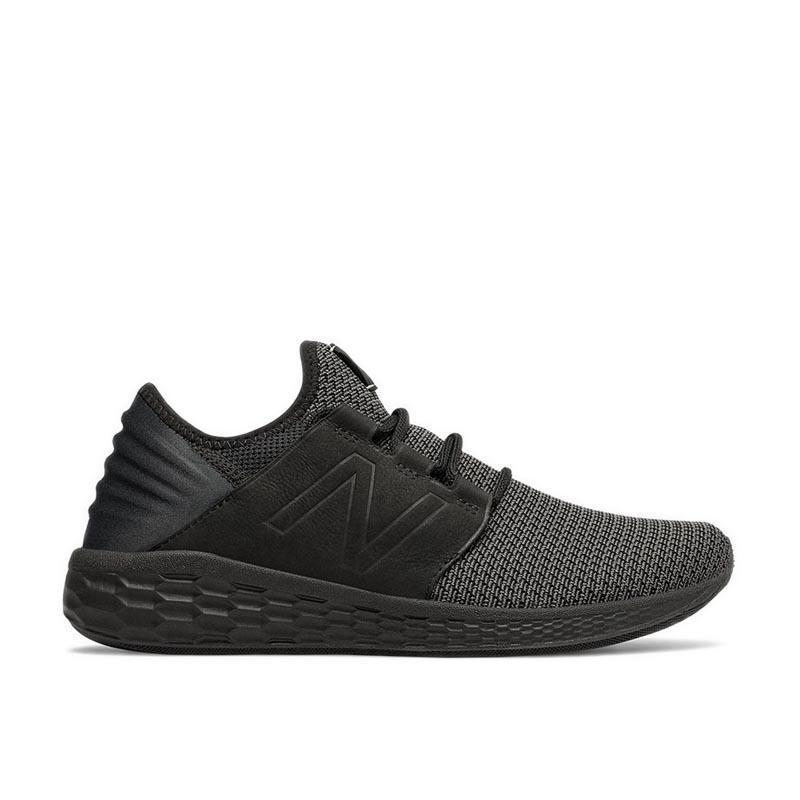 New Balance Sepatu CRUZ NUBUCK Pria - Hitam 7fa79949d4