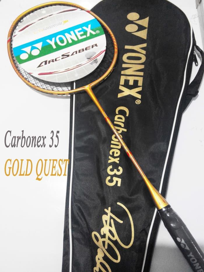 HOT PROMO!!! Raket Yonex Carbonex 35 Extended GOLD QUEST Edition Murah Berkelas - fk3UXh