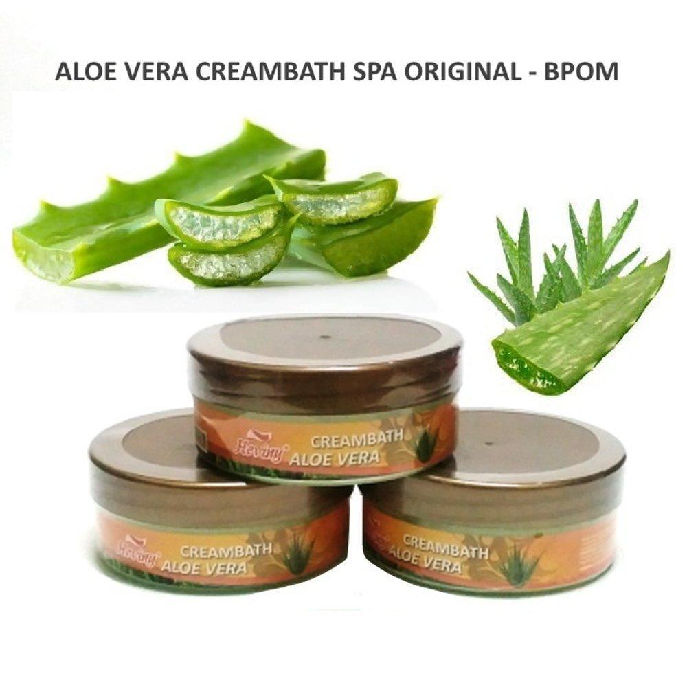 Aloe Vera Creambath BPOM Creambath aloevera SPA Creambath Lidah Buaya Conditioner