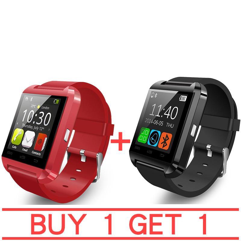 U8 Bluetooth Smart Watch (Red) BUY 1 TAKE 1