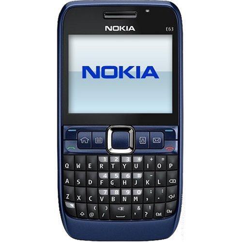 Nokia E63 - 3G UMTS - Black