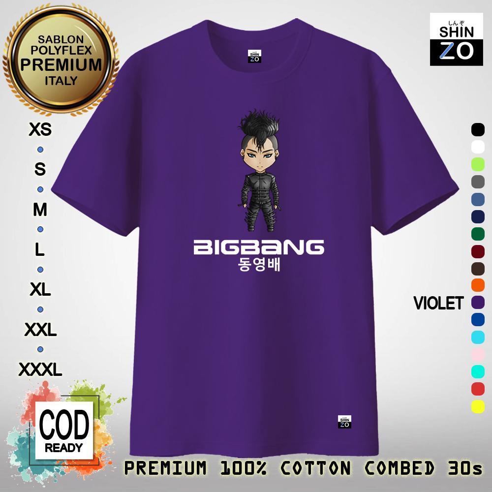 Shinzo Design - Baju Kaos Unisex 17 Warna - T Shirt Bigbang Taeyang - Kaos  Musisi a19f18d90f