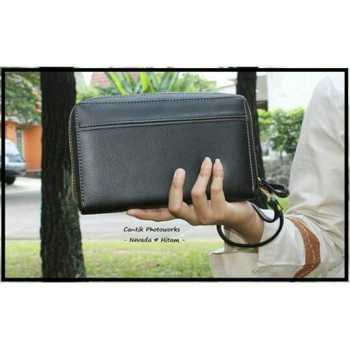 Hemat 10%!! Dompet Nevada Wanita Kulit Sintetis,Uk 22X13 - ready stock