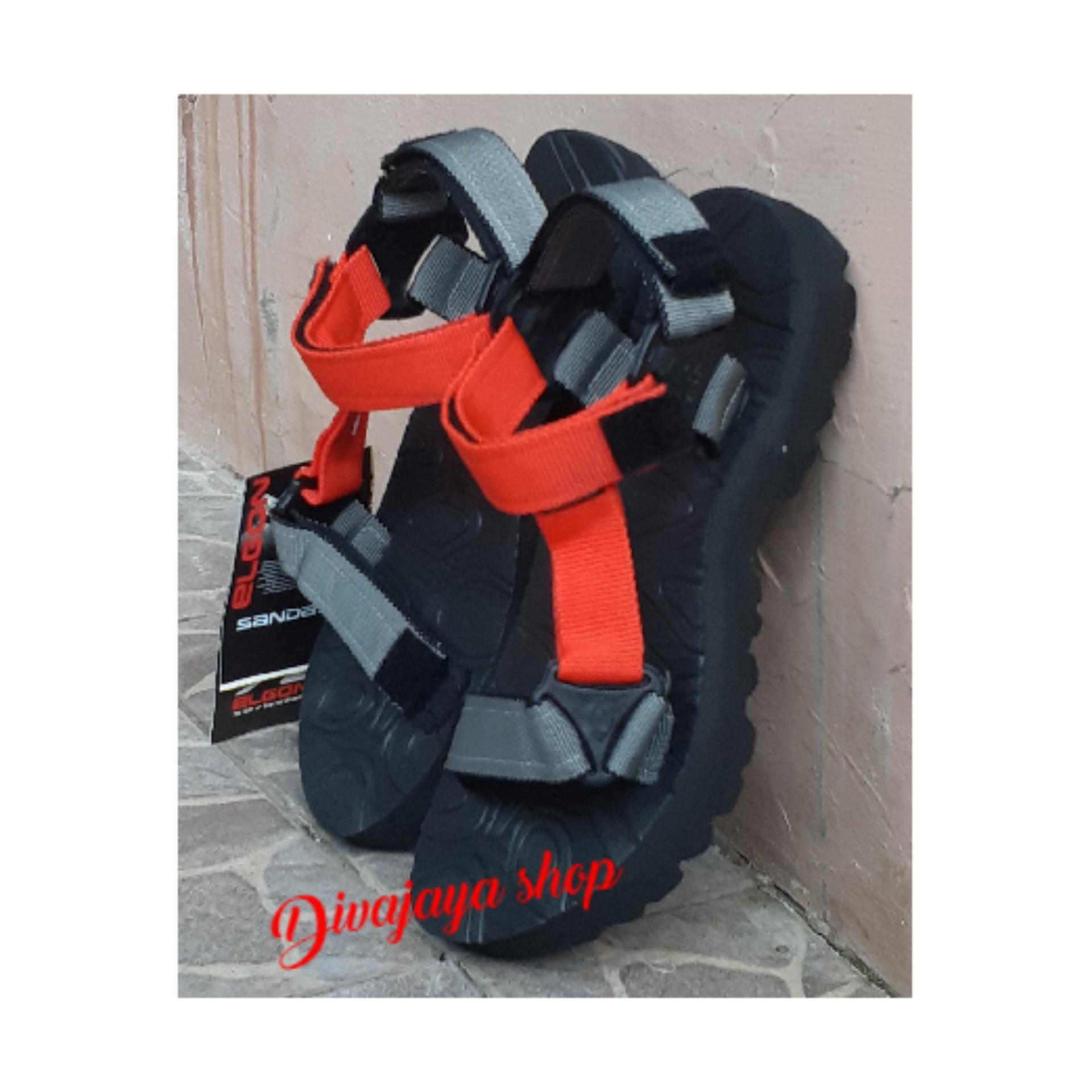 Sendal gunung model terbaru Elgon sandal gunung Pria Wanita-ST-Fhasion Djs 337189c54f