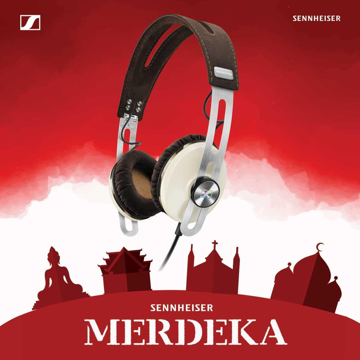 Sennheiser Momentum OnEar 2G Headphones - Ivory - Headphone On Ear [DKI Jakarta] | DuniaAudio.com