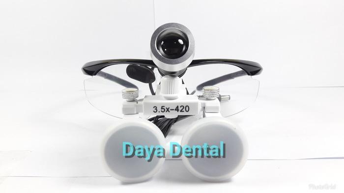 Dental loupe/kaca mata loupe/kaca mata pembesar dental endo