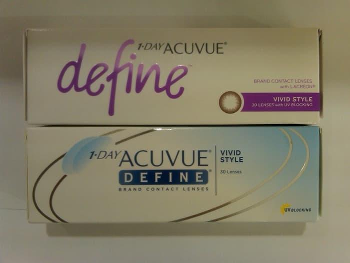 SALE - Softlens 1 Day Acuvue Define (Vivid Style) Original
