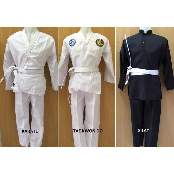 Baju Karate / Taekwondo / Silat Anak & Dewasa / baju bela diri terbaru / baju karate, taekwondo / baju karate anak & dewasa / baju karate Murah