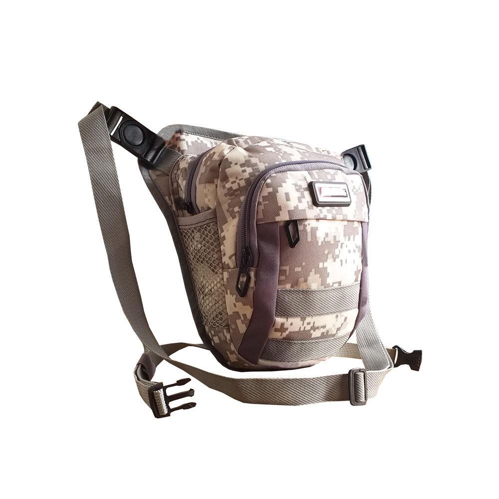 Tas Pinggang Tactical Military Bag Pria Cowok Army Hp Hiking Camping 1 Gratis Outdoor Militer Selempang Gress Paha 3in1 At2100 Gray