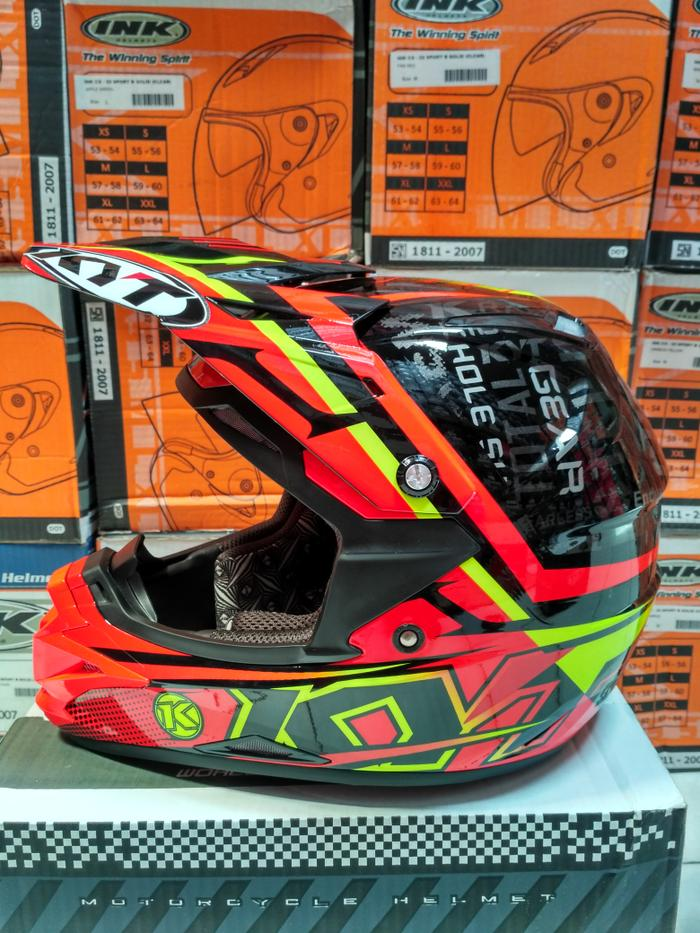 Kyt Cros Over step up black /red fluo /yelow fluo