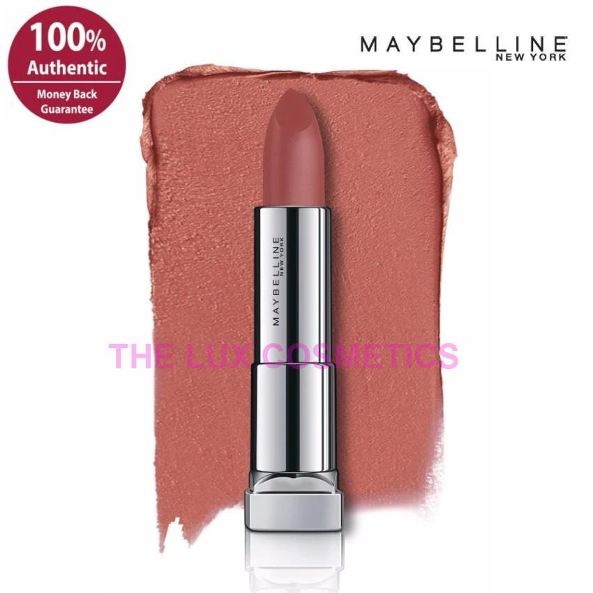 Maybelline Powder Matte Lipstick Original Variasi Mauve it up