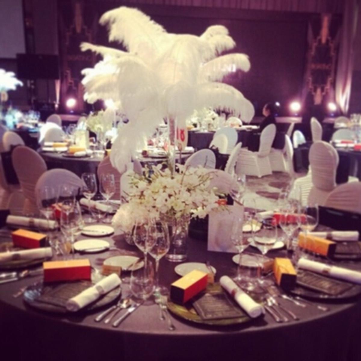10 Pcs Bulu Burung Unta Alami DIY Kerajinan Pernikahan Pesta Kostum 30-35 Cm-