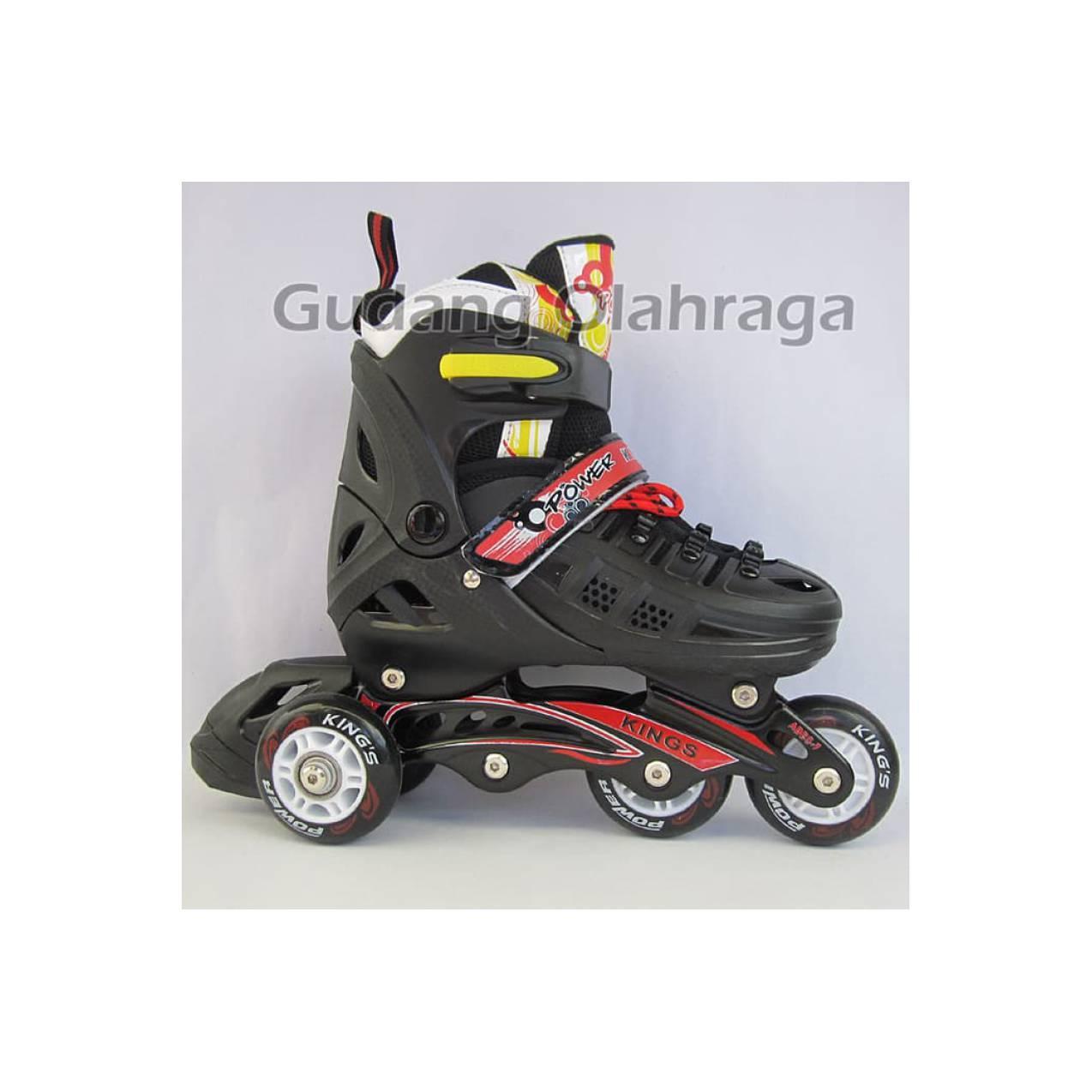 Sepatu Roda BAJAJ Ban KARET Anak dan Dewasa   Inline Skate Model Jahit 4bababbe6f