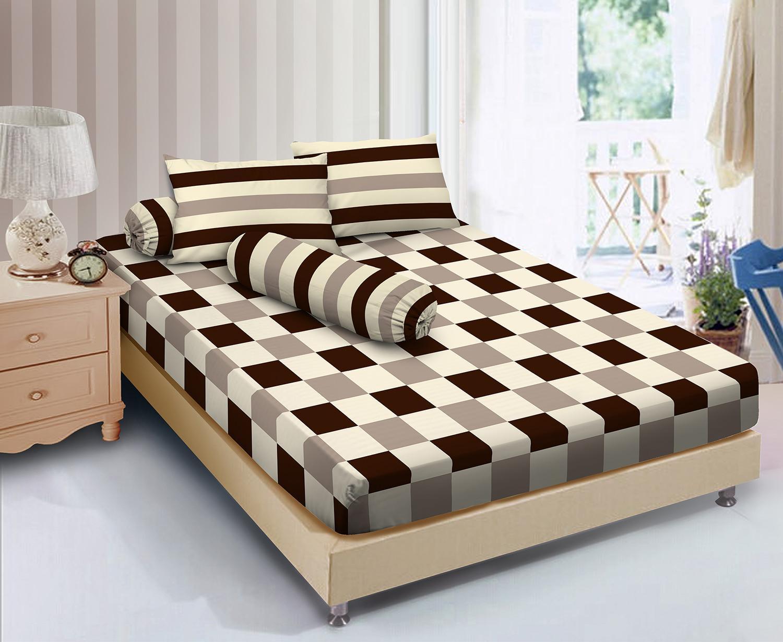 Buy Sell Cheapest Seprai D 39 Best Quality Product Deals Kintakun Sprei Dluxe 180 X 200 B4 King Green Forest Essenza