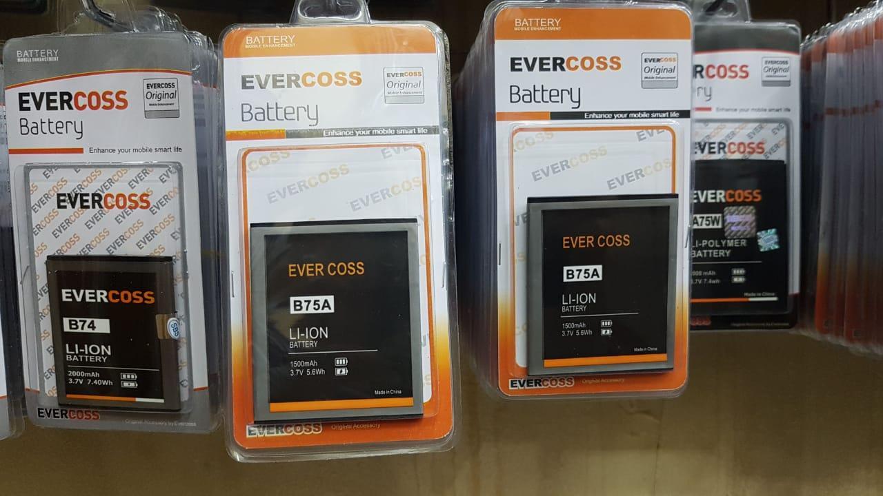 Buy Sell Cheapest Evercoss Winner A75b Best Quality Product Deals Y3 B75a 8gb Gold Battery Batre Baterai Original