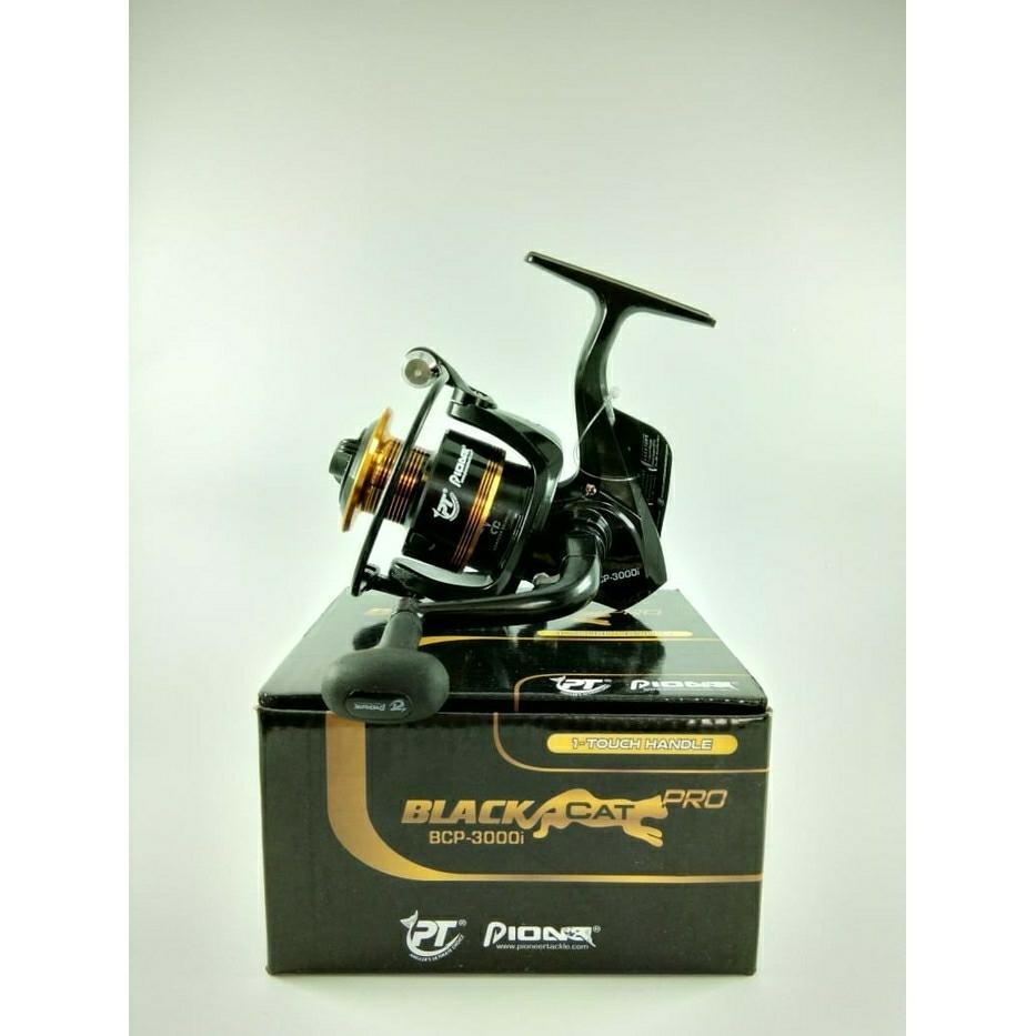 Reel Pancing pioneer black cat 3000