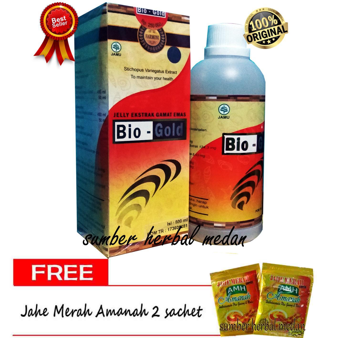 Jual Produk Bio Gold Online Terbaru Di Stemcell Biogold Jelly Gamat G Sea Cucumber Original Asli 500ml
