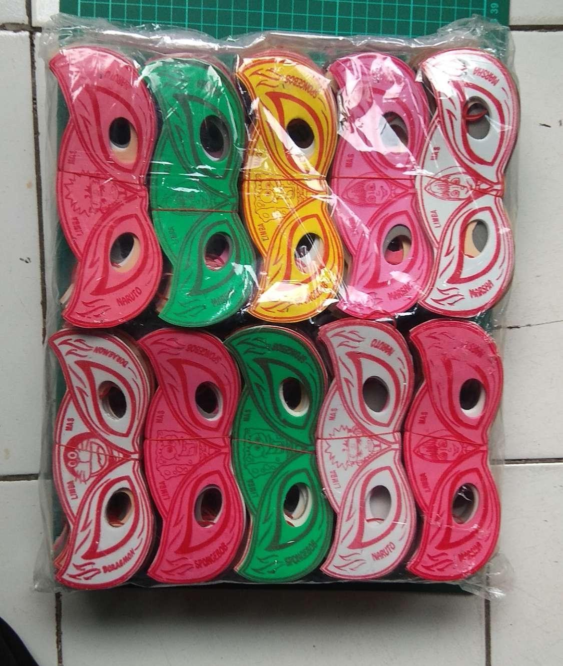 Kacamata / Topeng Busa Isi 200 Pcs Grosir Mainan By Difie Toys.