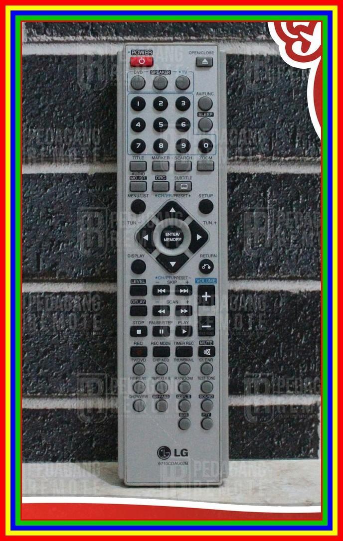 Remot Remote Home Theater Hometheater Ht LG 6710CDau02B Ori Original