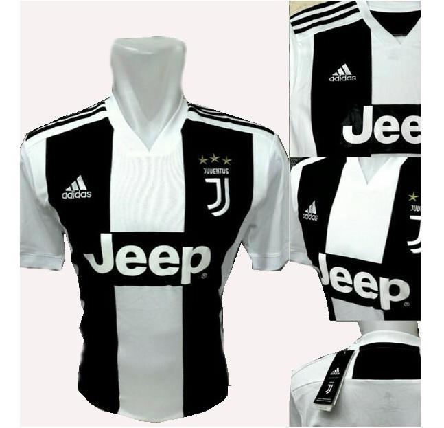 Bo Sport Jersey Olahraga Juventus Home 18 - 19