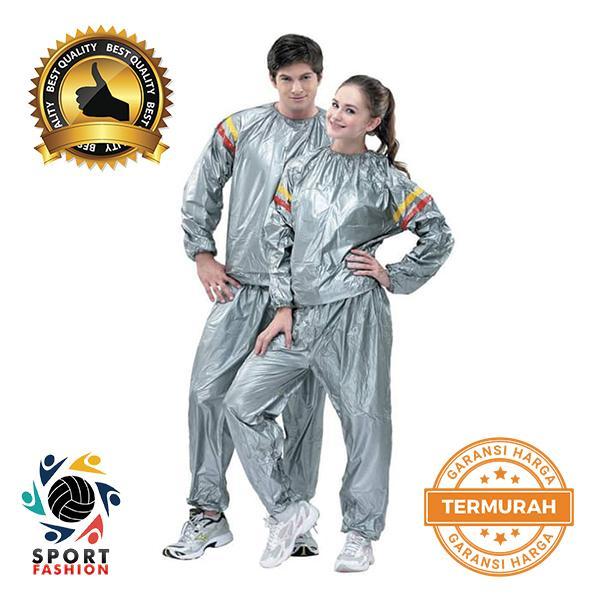 Baju Sauna Suit OMG Jaket Celana Olah Raga Pria Wanita Best Quality Baju Sauna Pembakar Lemak Lebih