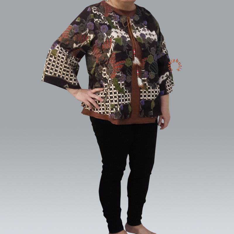 Lovely Chelsy Batik Wanita Size XXL / Blouse Wanita/Baju Muslim/Tunik Wanita/Batik Wanita/Atasan Batik Wanita/Blouse Terbaru