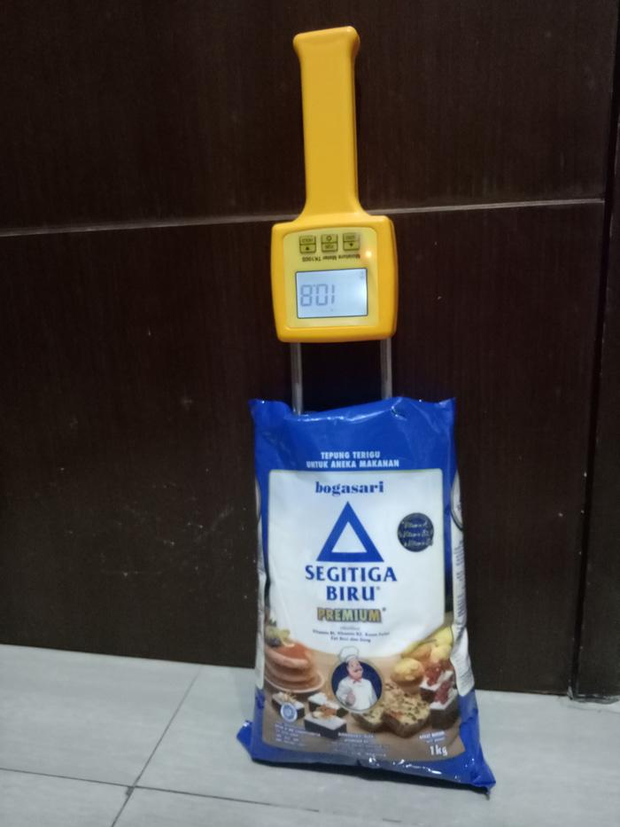 BEST SELLER - Alat Digital Pengukur Kadar Air Kelembapan Biji Bubuk Tepung Jagung