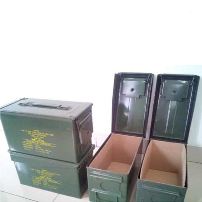 Box Kotak Besi Multifungsi Bekas Peluru Pindad Serbaguna
