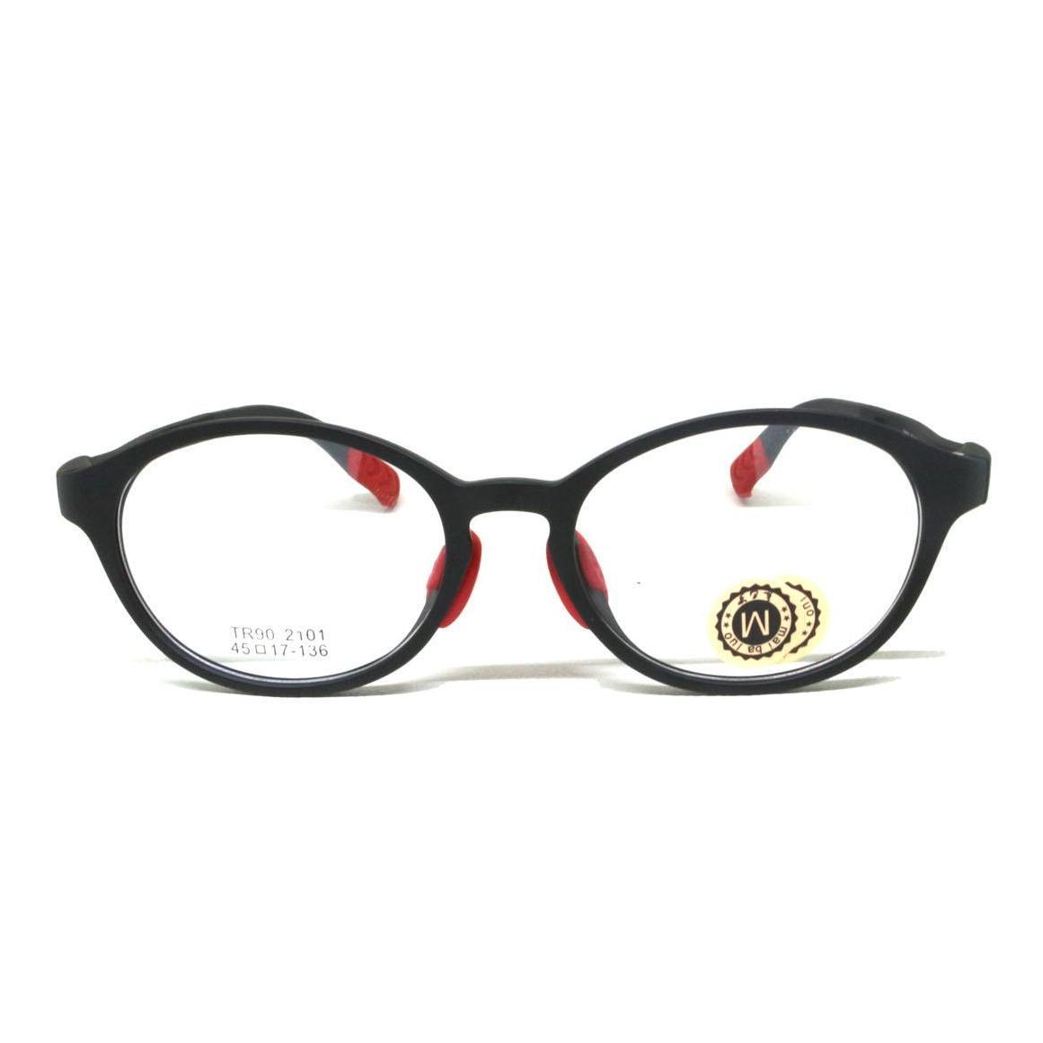 Frame Kaca Mata Anak Hitam 2101 By Cek Toko Sebelah-.