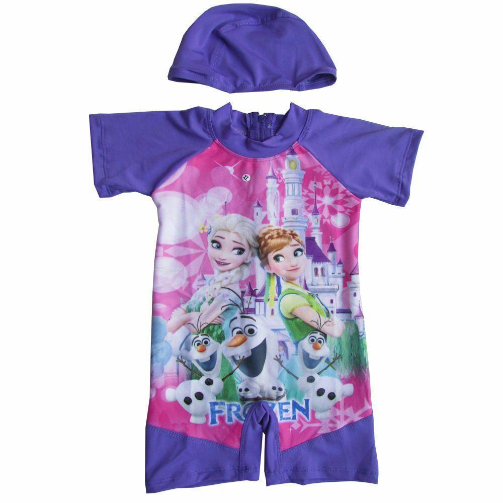 Baju Renang Bayi Karakter Frozen Cantik dan Lucu TERBARU- K035