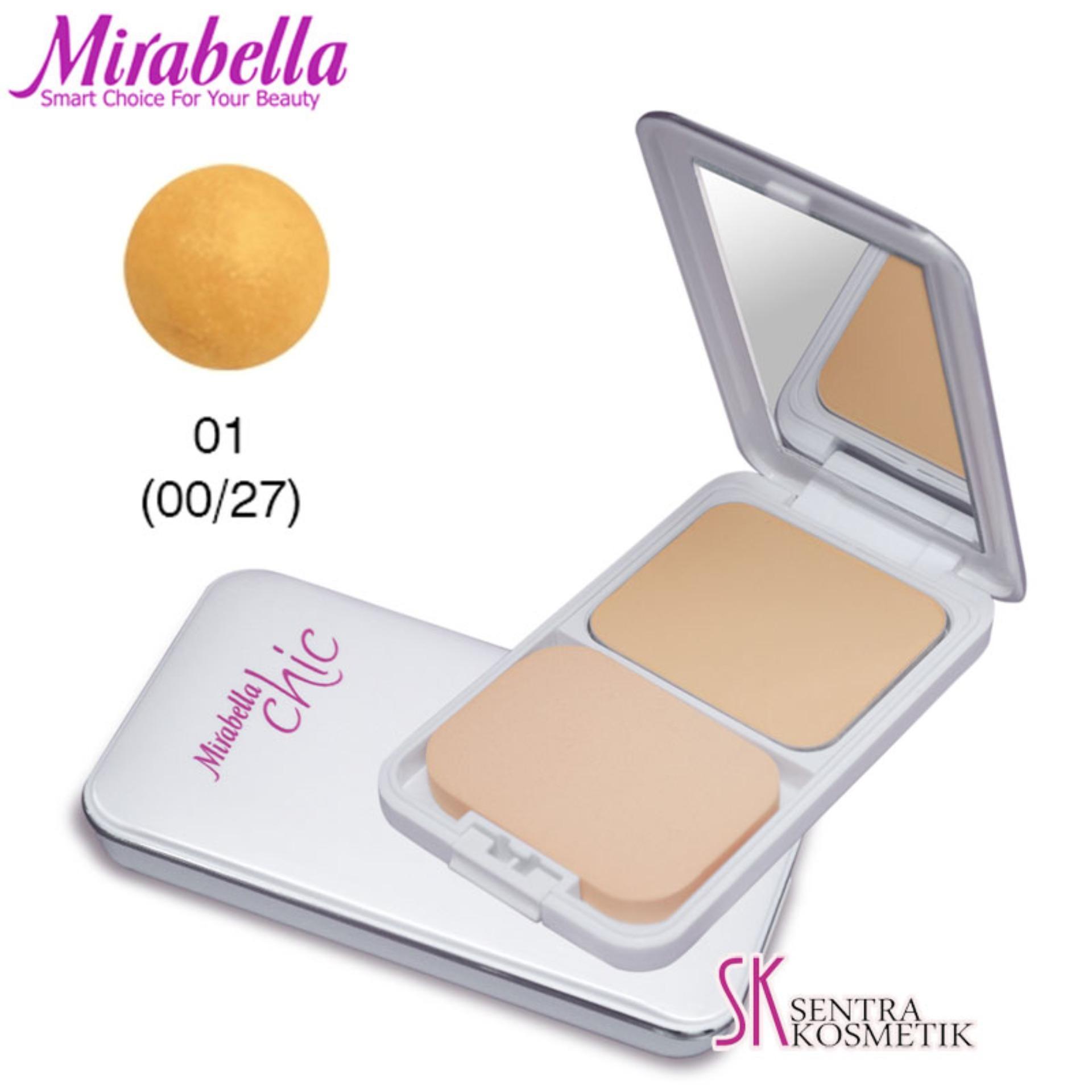 MIRABELLA Chic Two Way Cake UV White 01