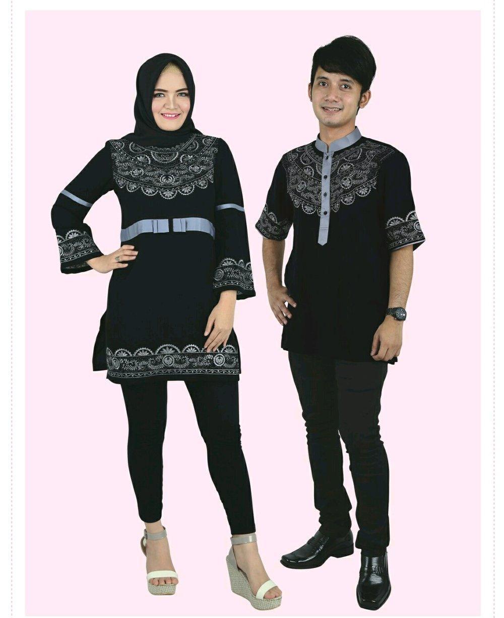 Baju Muslim COUPLE Raindoz 2181 2182 di lapak DISTRO GROSIR MURAH BANDUNG sepatumurahnian