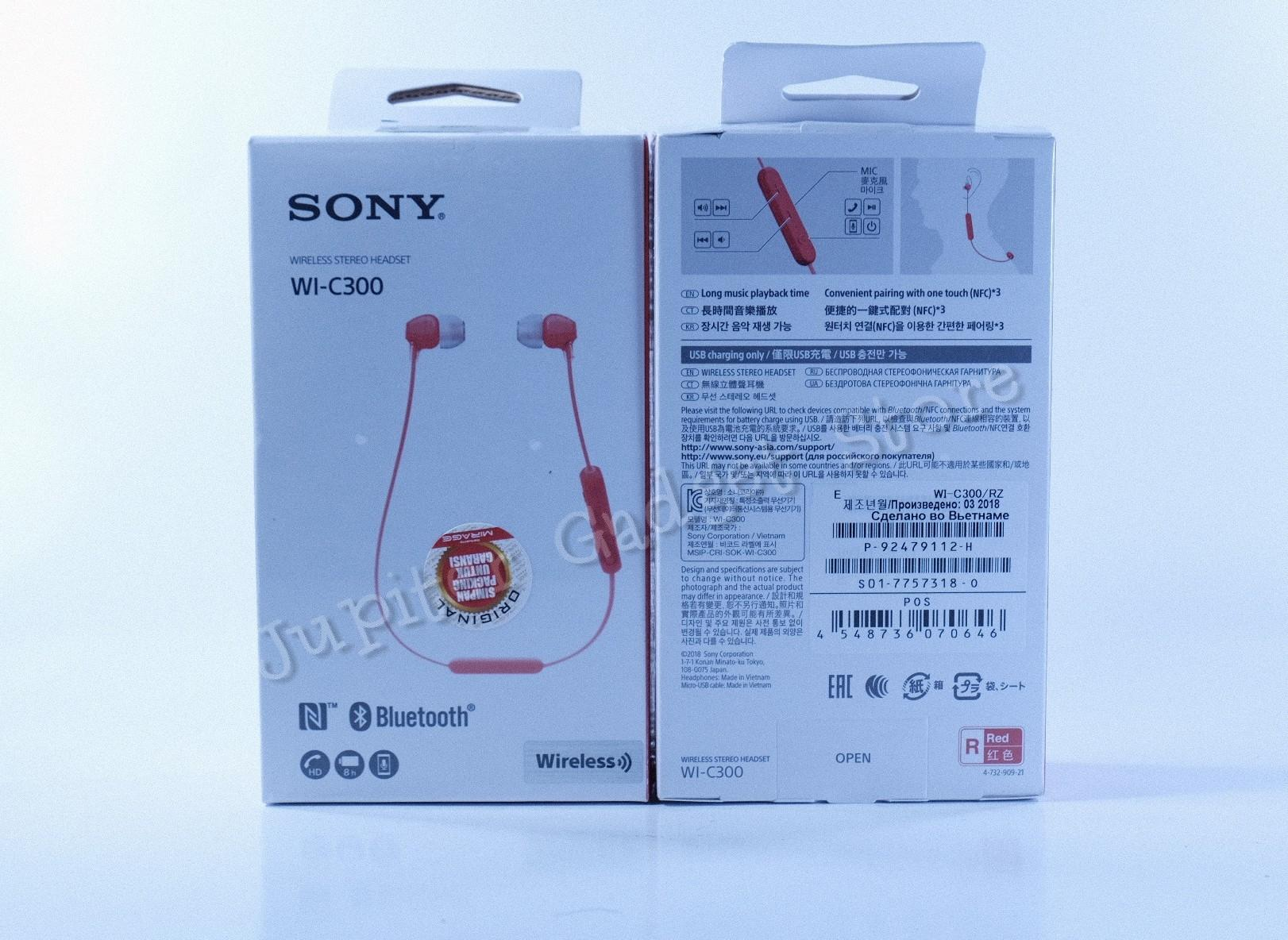 Buy Sell Cheapest Wireless Mdr Best Quality Product Deals Sony Extra Bass Sports Bluetooth In Ear Headphone Xb80bs Merah Wi C300