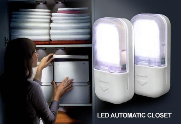 Pusat Barang Unik PG Lampu Lemari Otomatis YL-358 / LED Automatic Closet Light ALAT PENCAHAYAAN RUANGAN TERBARU CANGGIH TERMURAH KEKINIAN