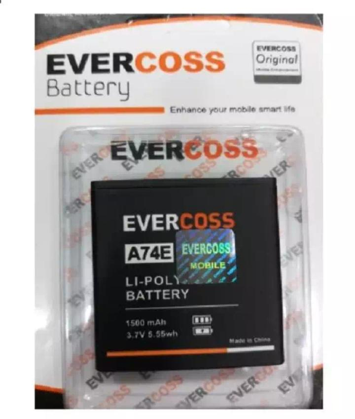 Baterai EverCross A74E