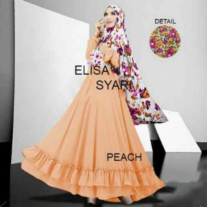 Tanah Abang Fashion terbaru termurah dan terlaris Gamis Muslim Eliza Aer