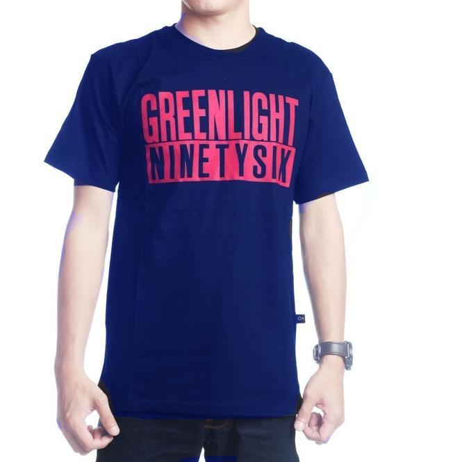 Kaos Distro Greenlight / Tshirt GRLT / Baju kaos distro Greenlight
