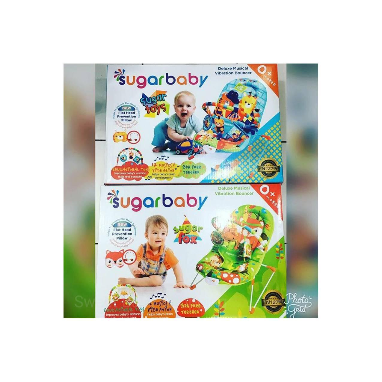 ... Love Bear Biru Source · Klikbabylove Sugar Baby Source Bouncer Sugar Baby Infant Seat Tempat Duduk Makan Bayi Murah