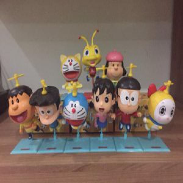 Doraemon Full Set Alfamart Merchandise + Albi Kondisi Bagus Sekali