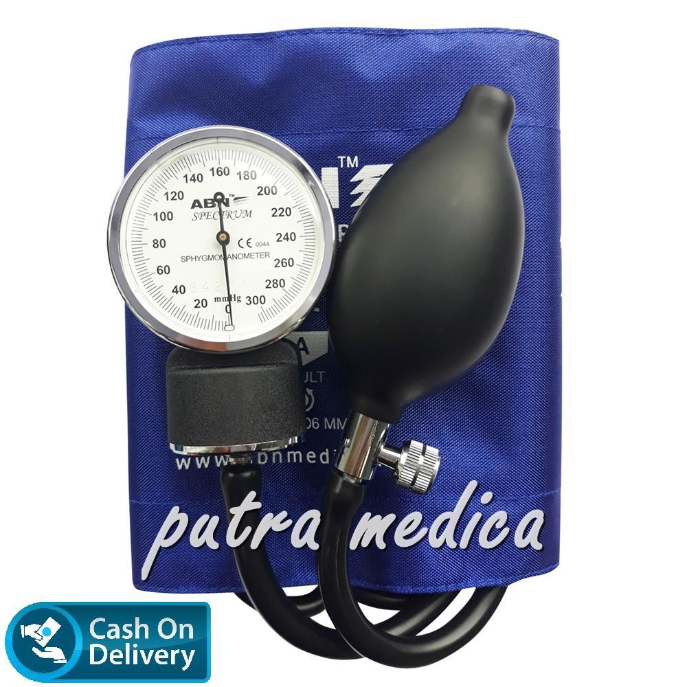 Jual Produk Alat Kesehatan Abn Terlengkap Ukur Tensi Darah Blood Pressure Monitor Tensimeter Putra Medica Aneroid Spectrum Royal Blue Jarum Warna Warni Profesional