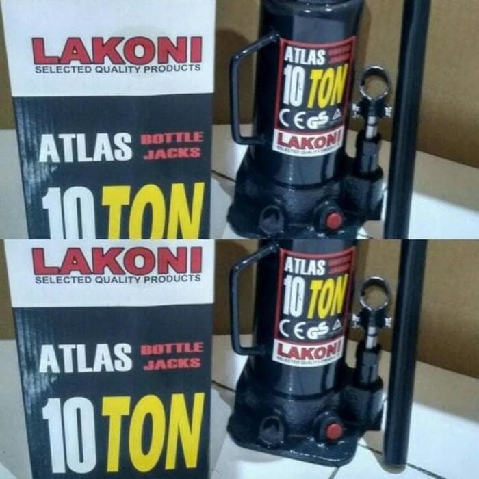 SALE - DONGKRAK BOTOL LAKONI ATLAS 10 TON / DONGKRAK MOBIL 10 TON