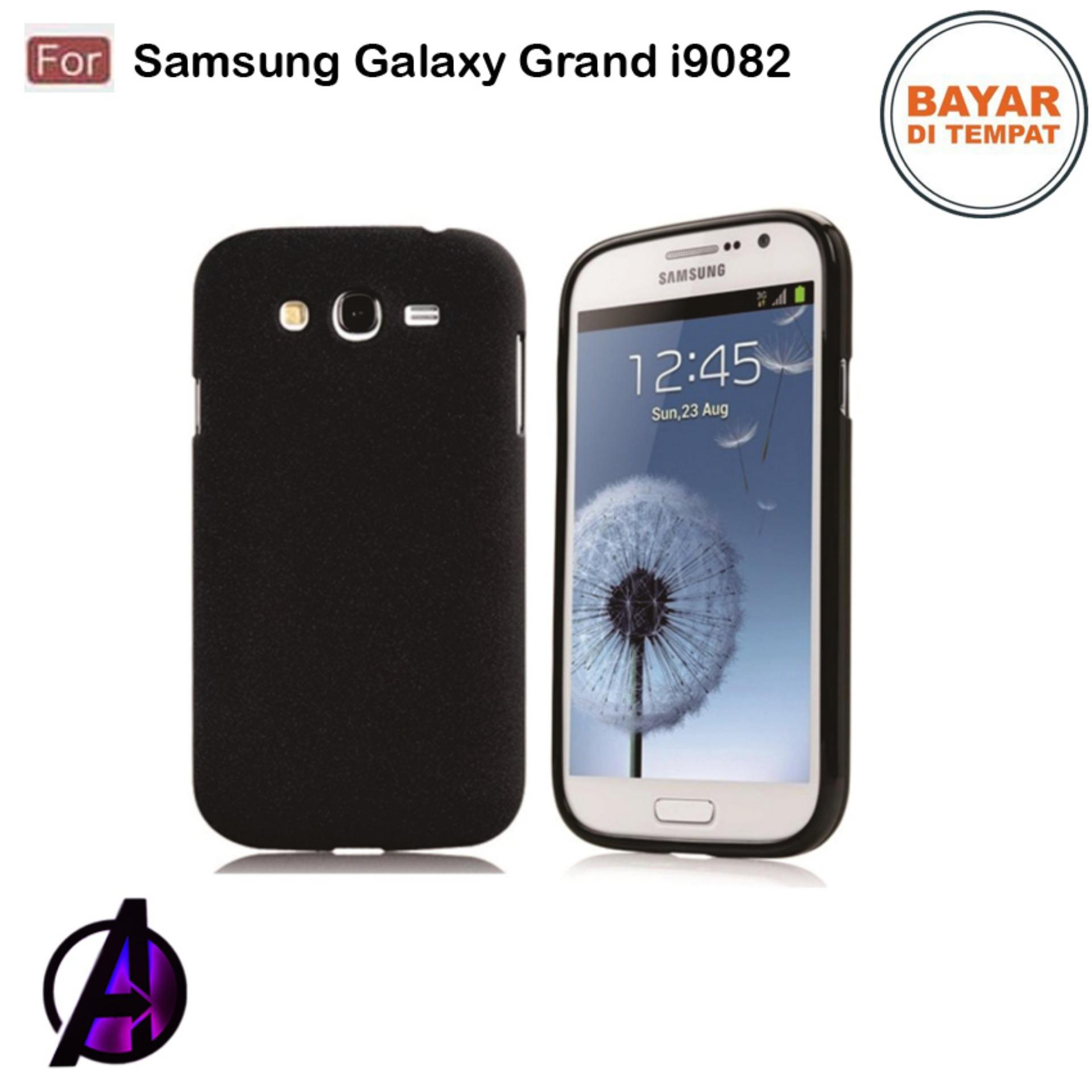 Kondom Hp / Softcase / Casing Ultraslim Case Matte Black Space Untuk Samsung Galaxy Grand 1 / i9082 / Grand Z / Grand Duos