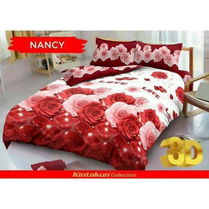 Sprei Kintakun d'luxe 180 Nancy king size 180x200 - SZzdbNa