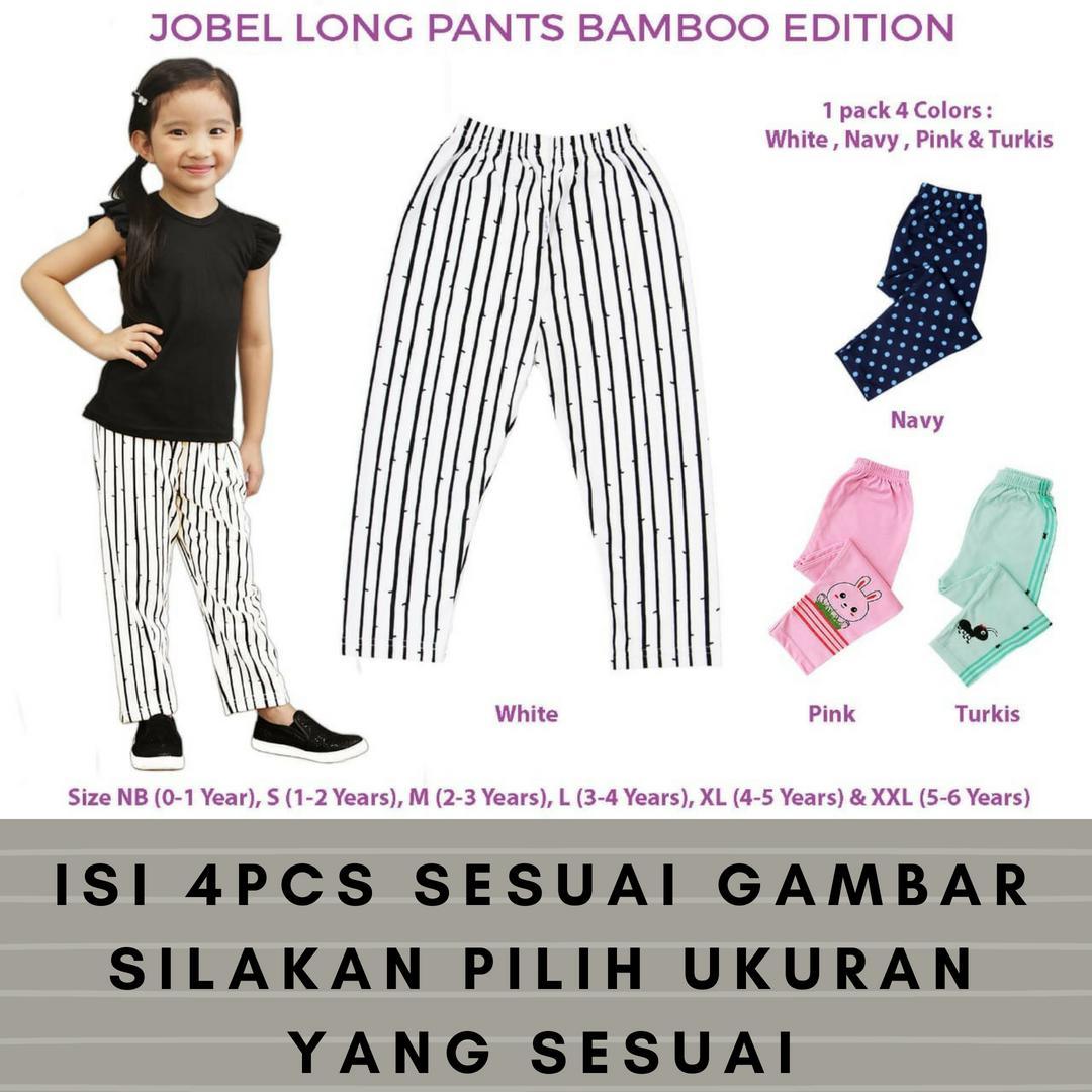 Jual Legging Bayi Perempuan Terbaik Lazada Cotton Rich 4pc Jobel Long Pants Bamboo Edition