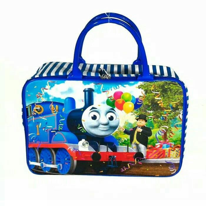 Best Seller - Tas Travel Bag Koper Piknik Kanvas Besar Serbaguna Thomas - Koper Anak Kualitas Premium